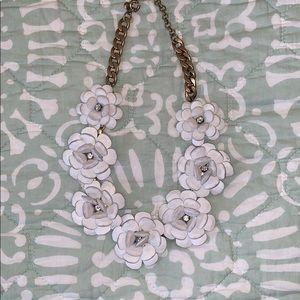 J.Crew: flower statement necklace